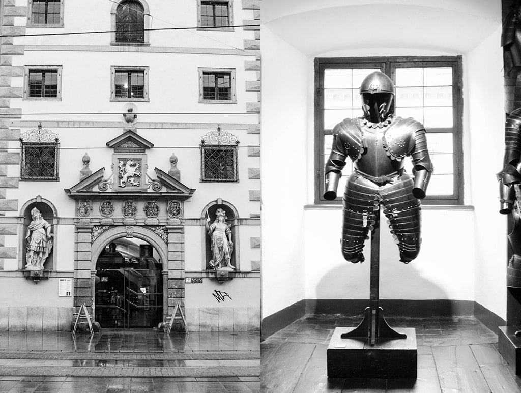 Medieval Armor at the Zeughaus Museum | Bearleader No.10-09