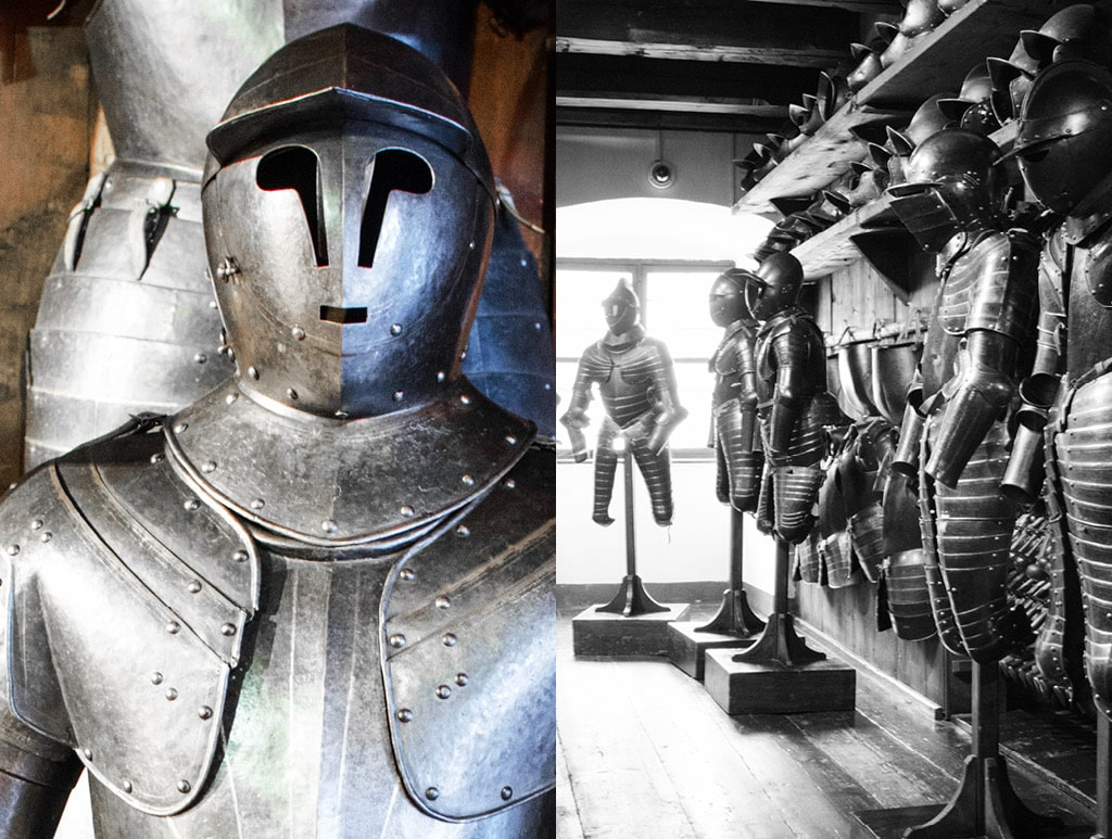 Medieval Armor at the Zeughaus Museum | Bearleader No.10-04