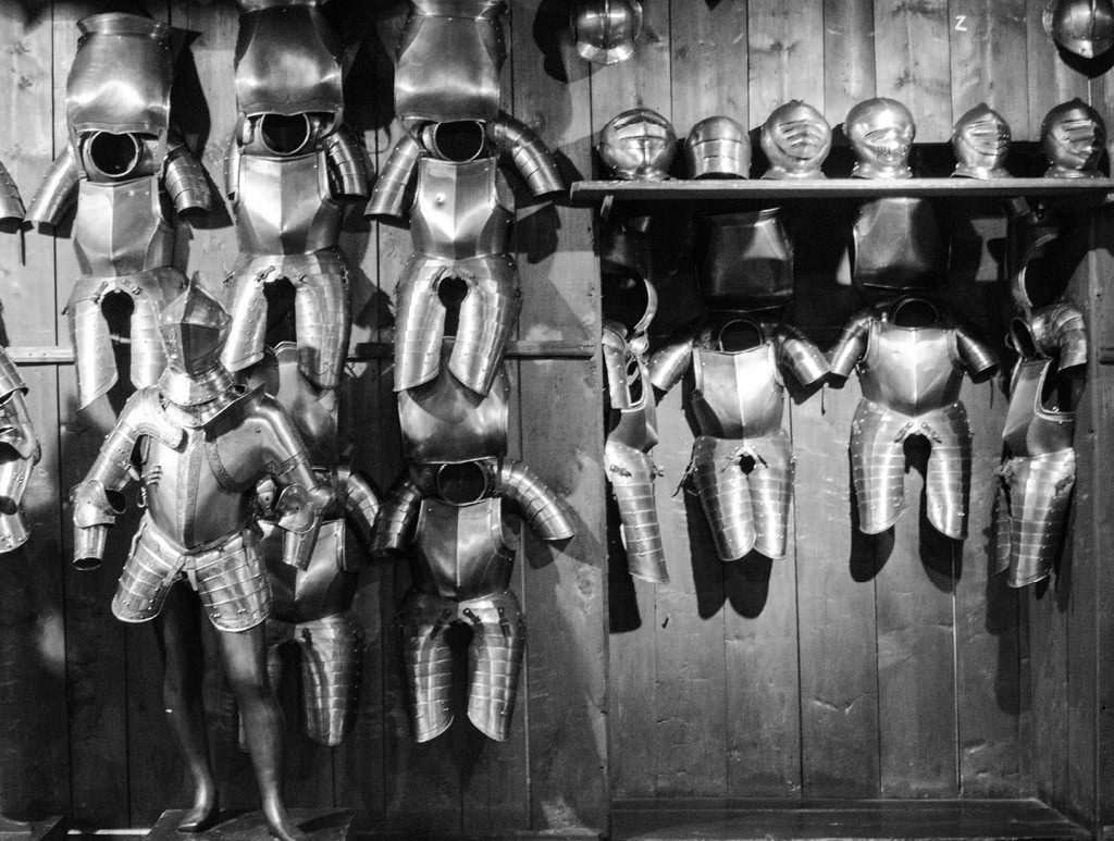 Medieval Armor at the Zeughaus Museum   Bearleader No.10-01