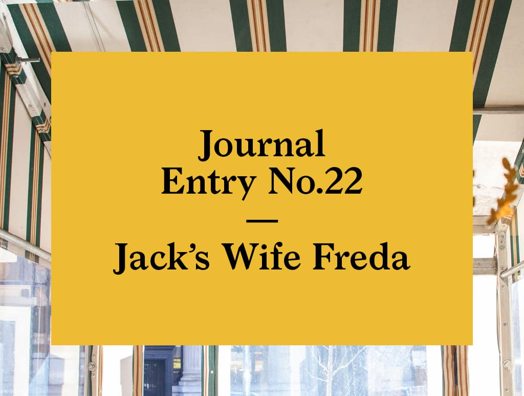 No.22 | Jack's Wife Freda in New York City-02