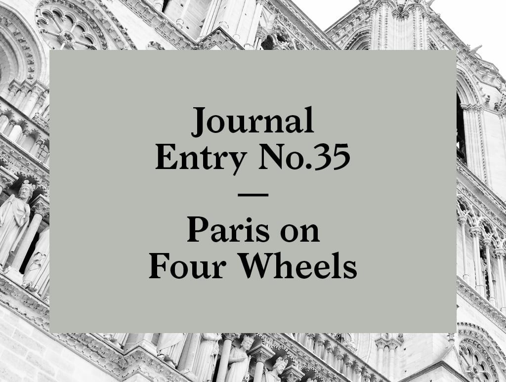 No.35 | Paris on Four Wheels with 4 rous sous 1 parapluie-02