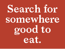 """Let's search for """"restaurant"""" then >"""