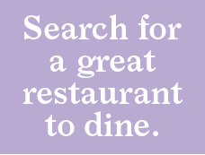 "Let's search for ""restaurant"" then >"