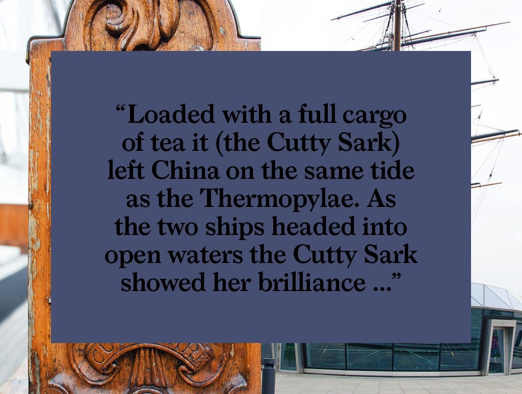 Bearleader No.70 | Passage on the Cutty Sark-02